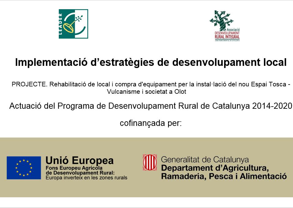 Programa de Desenvolupament Rural de Catalunya 2014-2020