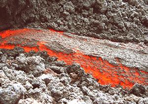 Imatge de lava fluint